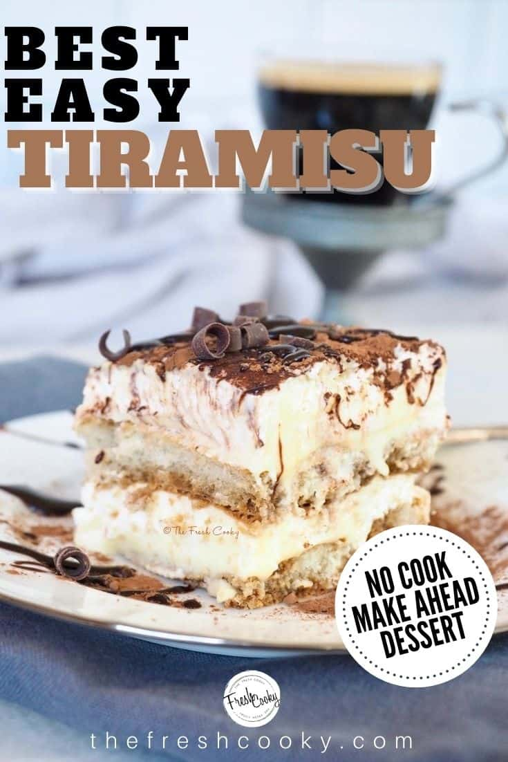 Traditional authentic Tiramisu is one of the most famous Italian desserts around the world. Learn the easy secrets of making tiramisu at home. Recipe and tips on thefreshcooky.com | #tiramisu #authentic #italian #easyrecipe #homemade #howto via @thefreshcooky
