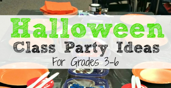 Halloween Class Party Ideas for Grades 3-6 - Joy in the Works