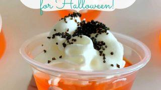 Halloween Creamsicle Jello Shot Recipe | Easy Halloween Shot Recipe