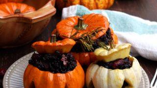 Halloween Stuffed Pumpkins • Happy Kitchen