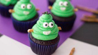 Frankenstein Cupcakes Halloween Treat