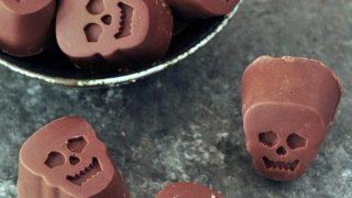 Pumpkin Caramel Chocolates