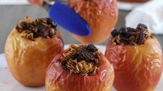 Pumpkin Spice Air Fryer Baked Apples
