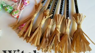 Witch Broom Halloween Class Treats ⋆ Exploring Domesticity