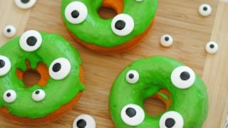 Halloween Monster Donuts: Too Scary to Eat!