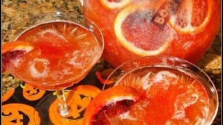 Blood Orange Spooky Slush Punch