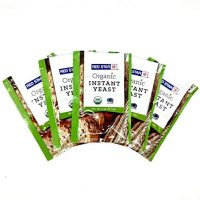Lesaffre Red Star Organic Instant Yeast - 5 Packets