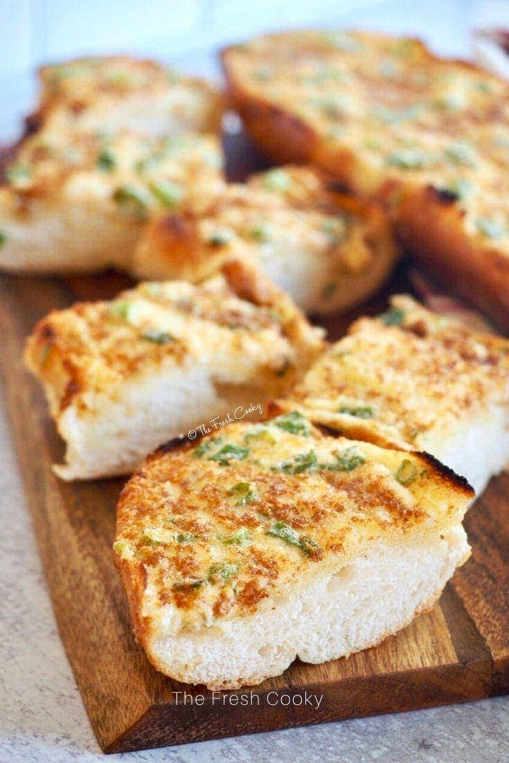 The Best Cheesy Bread Spread