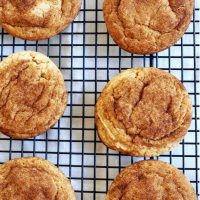 Chewy Cookie Butter Snickerdoodles
