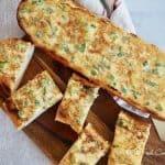 The Best Cheesy Bread Spread (aka Liz Bread)