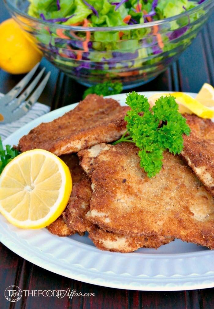 Pork Schnitzel Recipe - Easy German Traditional Dish