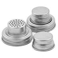 Mason Jar Shaker Lids - 2 Pack - Awesome to Shake Cocktails