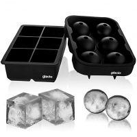 Ice Cube Trays Silicone Combo Mold - Set of 2