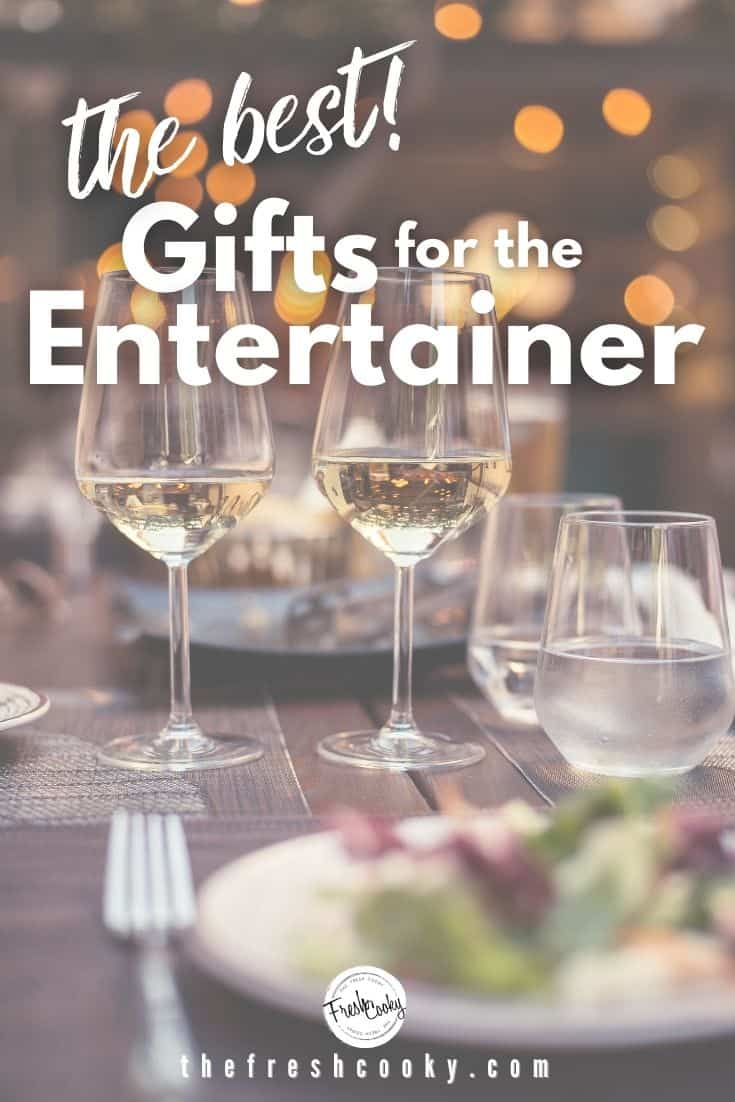 A carefully curated gift guide for the entertainer or hostess in your life from The Fresh Cooky. Favorite things, great gift ideas for women, cooks, foodies and those who like to entertain. Via @thefreshcooky | #giftguide #cooking #bestgiftsforwomen #thefreshcooky via @thefreshcooky