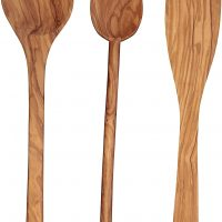 Olive Wooden Spoon set from Italy