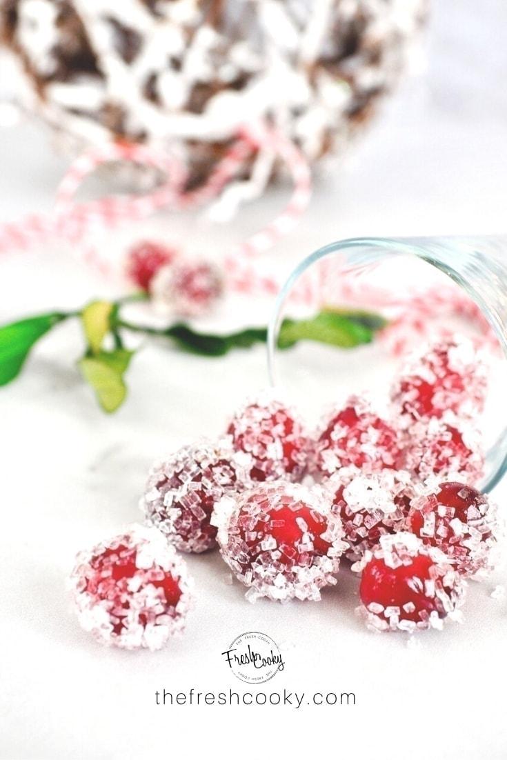 Sugared Cranberries | 3 Sugar Varieties