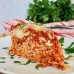 Easy Baked Spaghetti Pie