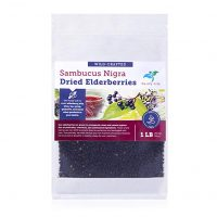 Dried Elderberries 1 lb