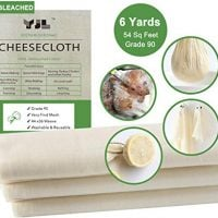Unbleached Cheesecloth for Straining 100% Cotton Grade
