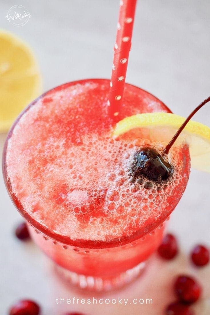 Easy Cranberry Spritzer