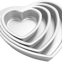 Heart Shaped Pan Set