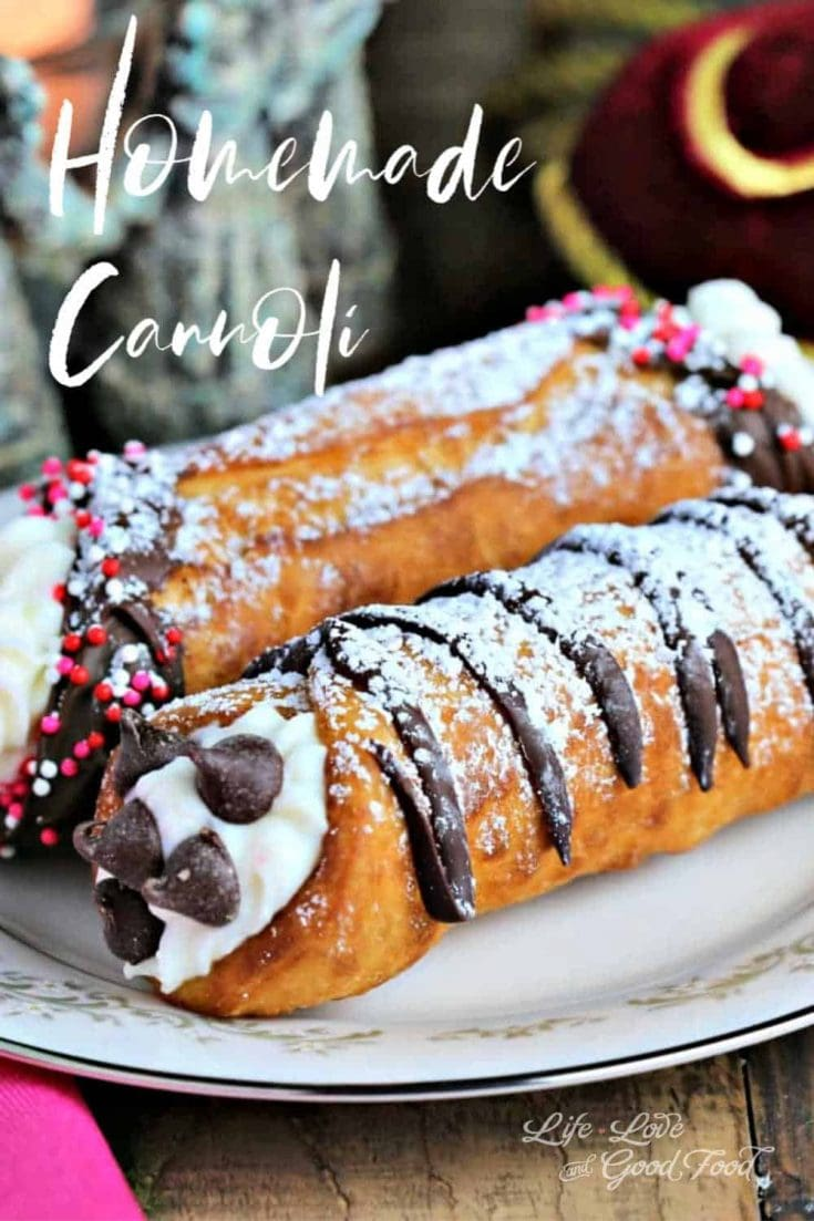 Homemade Cannoli: A Sweet Valentine Treat