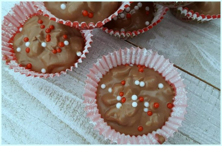 Crock Pot Chocolate Peanut Butter Candy