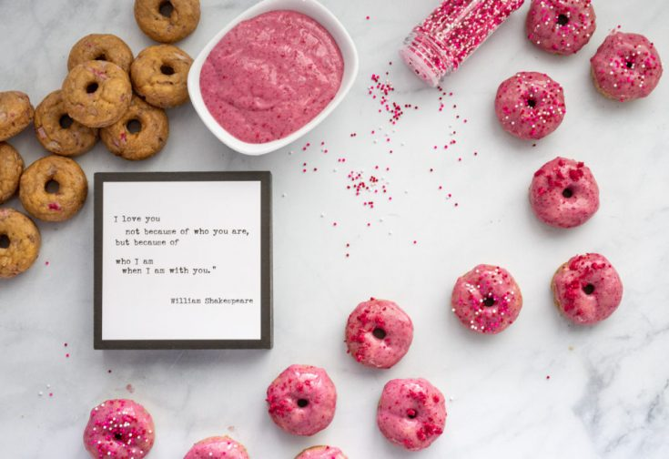 Strawberry Mini Donuts