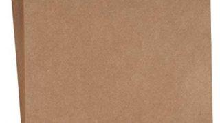 Kraft Cardstock - 50-Pack Letter Sized 65lb