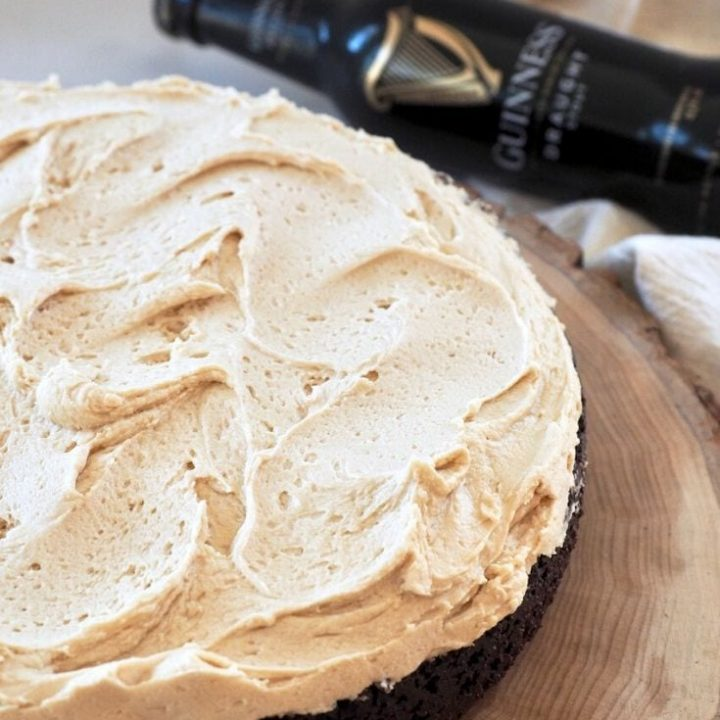 Chocolate Guinness Cake with Irish Buttercream