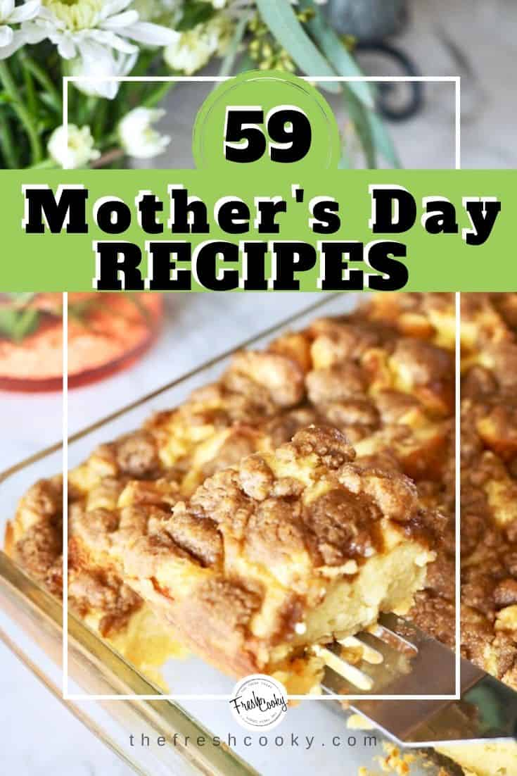 59 fantastic Recipes to Make Mother's Day More Special at Home! Recipes via @thefreshcooky | #easyrecipes #breakfast #brunch #salads #drinks #sweets #best #greatest #easy #Kidfriendly via @thefreshcooky