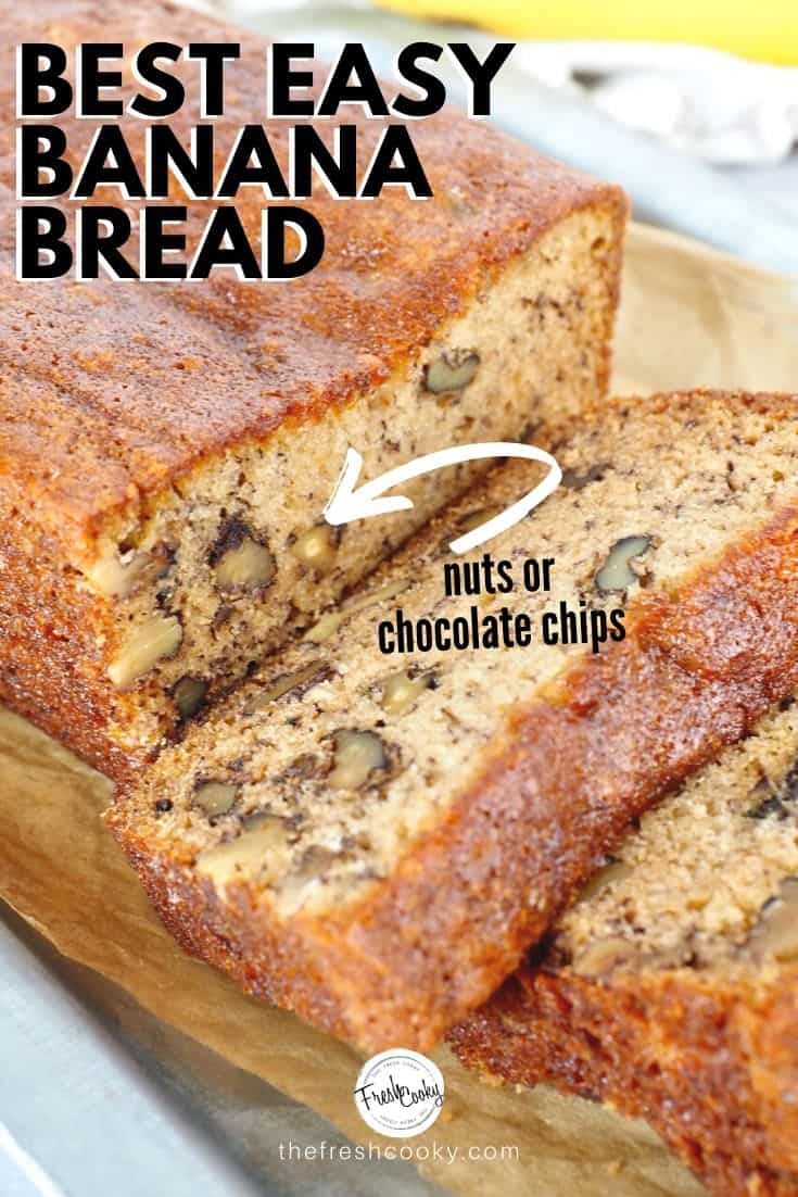 Does Flour Bakery's Famous Banana Bread live up to the hype? The Verdict? YOU BET IT DOES! Even with tricky high altitude baking! In my humble opinion it is the best ever. I like my banana bread to be dense, full of texture, not overly sweet and this has it all! Recipe on #thefreshcooky #flourbakery #famous