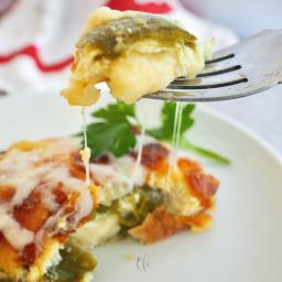 Easy Chile Relleno Casserole | Gluten Free Option