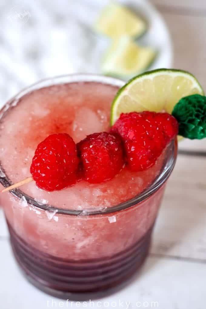 Healthy Hibiscus Margarita