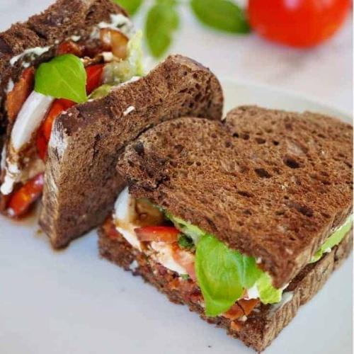 Caprese BLT Sandwich