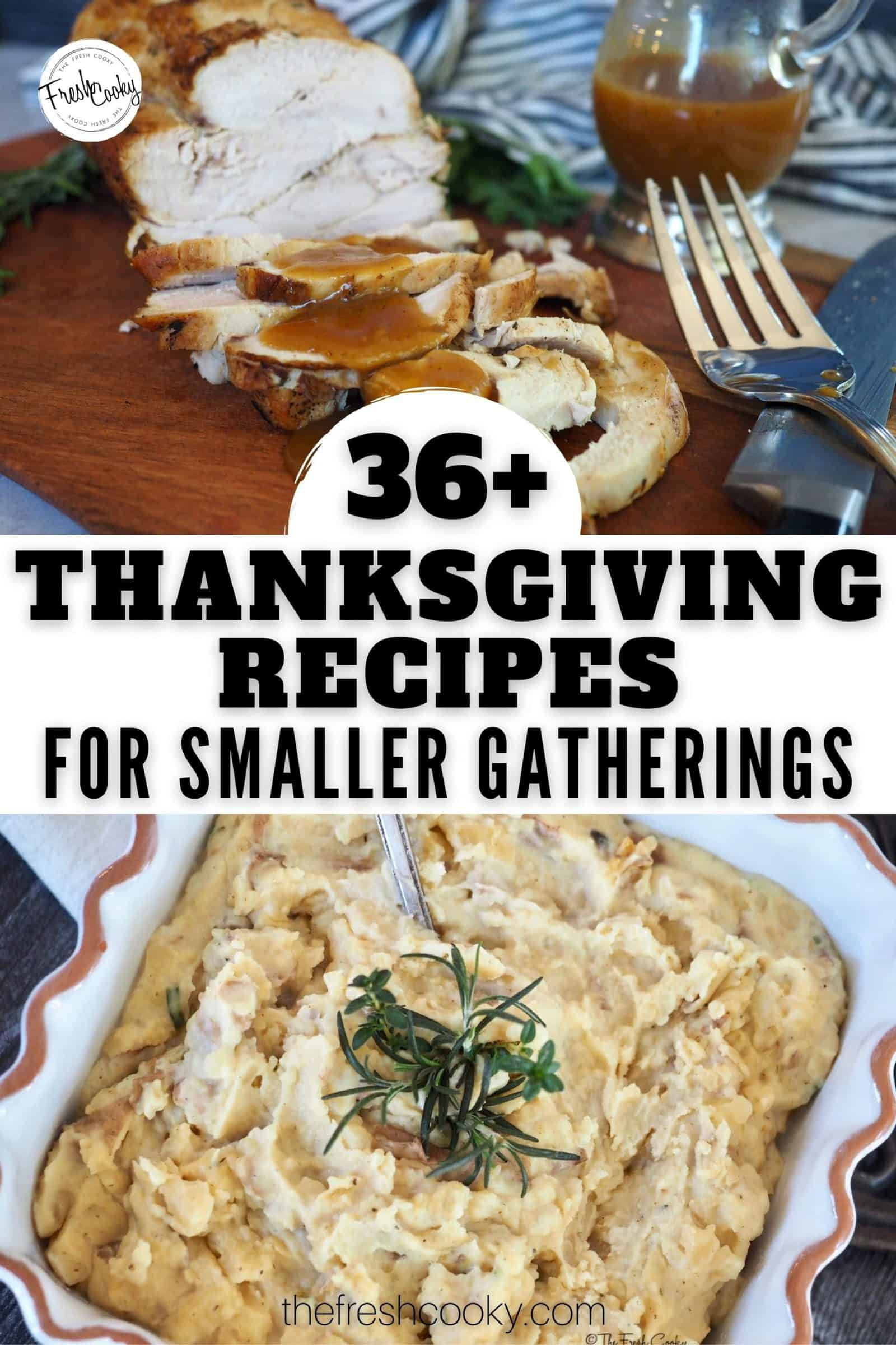 All the BEST Traditional Thanksgiving Menu Ideas for 2020. Main dish (turkey), stuffing, gravy, potato dishes, hot dishes, casseroles, cold side dishes, cranberries, relishes and fluffs, to delicious desserts finishing with cocktails, mocktails, hot drinks and more. Small Thanksgiving Ideas for two four and more. #thanksgivingfortwo #thefreshcooky #traditionalthanksgiving via @thefreshcooky