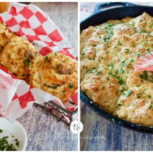 Red Lobster Cheddar Biscuits (biscuits & skillet bread)